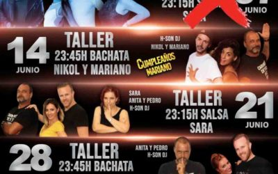 VIERNES DE SALSA Y BACHATA